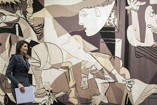 Emotion à l'ONU après la reprise par Rockefeller d'une tapisserie Guernica
