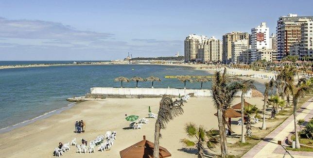 Alexandrie, plage et archéologie