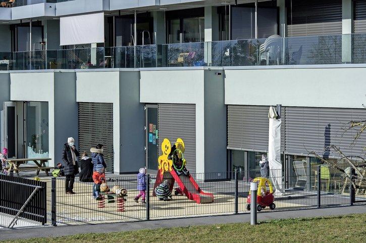 Les crèches sont meilleur marché en ville de Fribourg