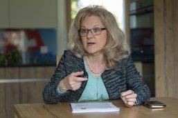 Gilberte Schär: «Mon objectif? Un siège pour l'UDC»