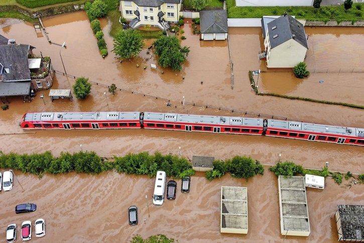 Intempéries en Allemagne: un déluge meurtrier et hors normes