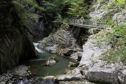 Les gorges de la Jogne et plusieurs sentiers à Fribourg à nouveau ouverts
