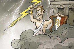 Macron, ce Jupiter qui impose la vaccination
