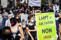 Manifestation à Lausanne contre la loi contre le terrorisme