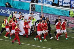 Eriksen stable, le match Danemark-Finlande va reprendre