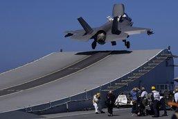 Avions de combat: le F-35 remonte la pente