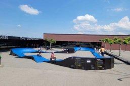 Le canton de Fribourg présente son «pumptrack» mobile