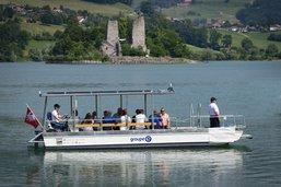En bateau électro-solaire pour voguer vers l'île d'Ogoz