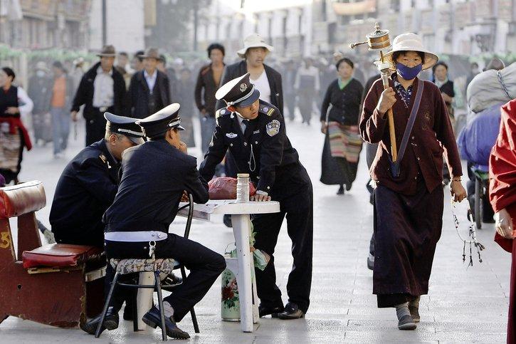 Un Tibet irrespirable