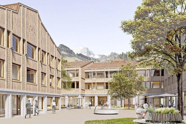 Le futur centre de Pringy prend forme