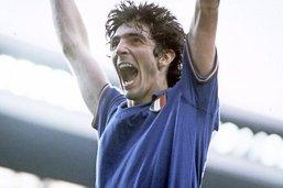 Le poster de l'équipe d'Italie 1982