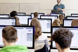 L'intégration du numérique est en réflexion dans les écoles