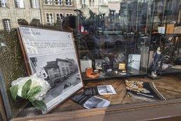 La rue de Lausanne en vitrine