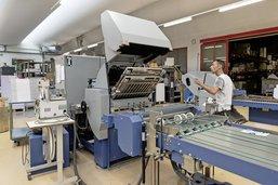 Nouveau départ pour l'imprimerie