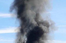 Incendie au camping de Salavaux